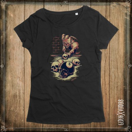 "T-Shirt ""8 Ball Skull"" Damen"