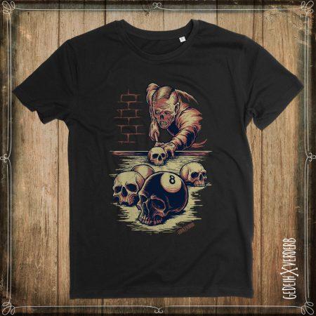 """T-Shirt """"8 Ball Skull"""" Herren"""