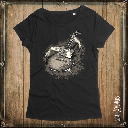 "T-Shirt ""Guitarzombie"" Damen"