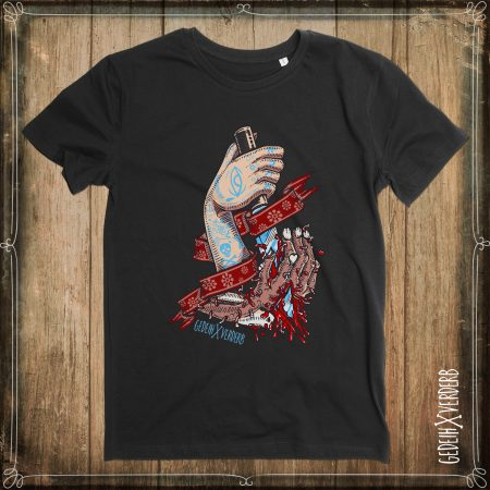"T-Shirt ""Hands Kill Zombie"" Herren"