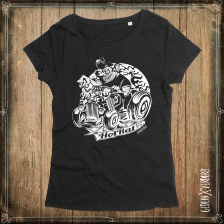 "T-Shirt ""Hot Rat"" Damen"
