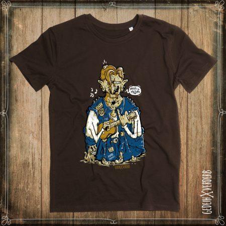 """T-Shirt """"Miss U Mum"""" Herren"""