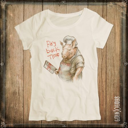 "T-Shirt ""Pay Back Time"" Damen"