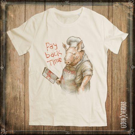 "T-Shirt ""Pay Back Time"" Herren"