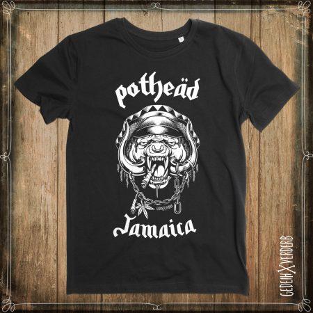 """T-Shirt """"Pothead Jamaica"""" Herren"""
