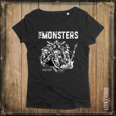 """T-Shirt """"The Monsters"""" Damen"""