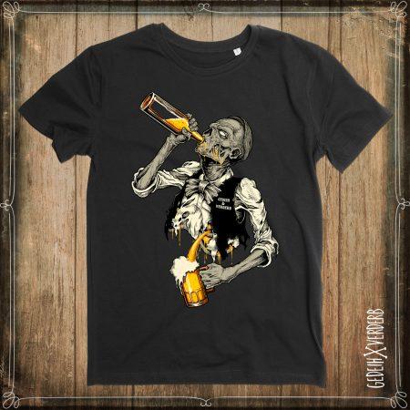 "T-Shirt ""ZomBie(r)"" ""Sisyphos-Saufen"" Herren"