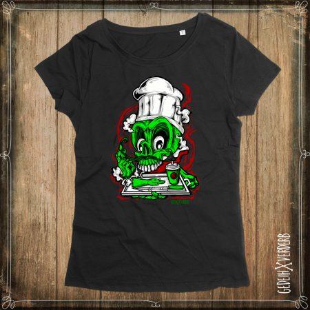 "T-Shirt ""Zombie Cook"" Damen"
