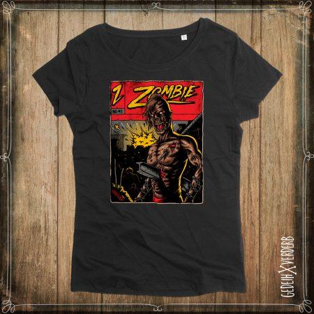 "T-Shirt ""Zombie Master"" Damen"