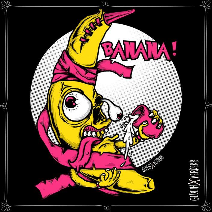 """""""Banana"""" Motiv"""