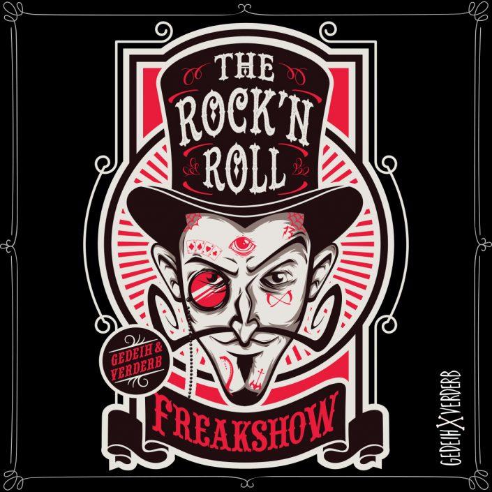 """Rock'n'Roll Freakshow"" Motiv"