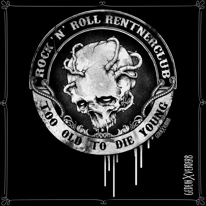 """""""Rock'n'Roll Rentnerclub"""" Motiv"""