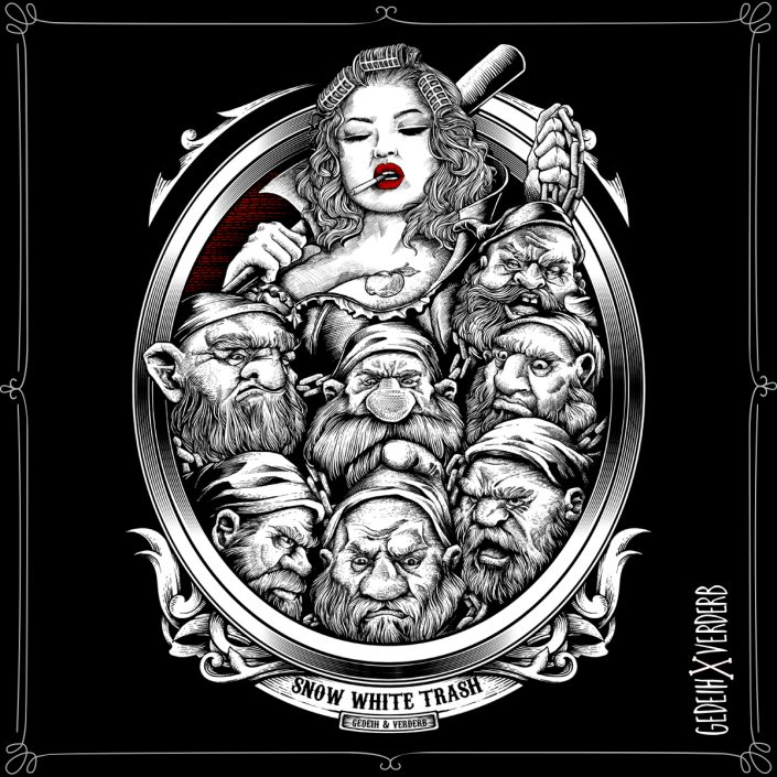 """Snow White Trash"" Motiv"