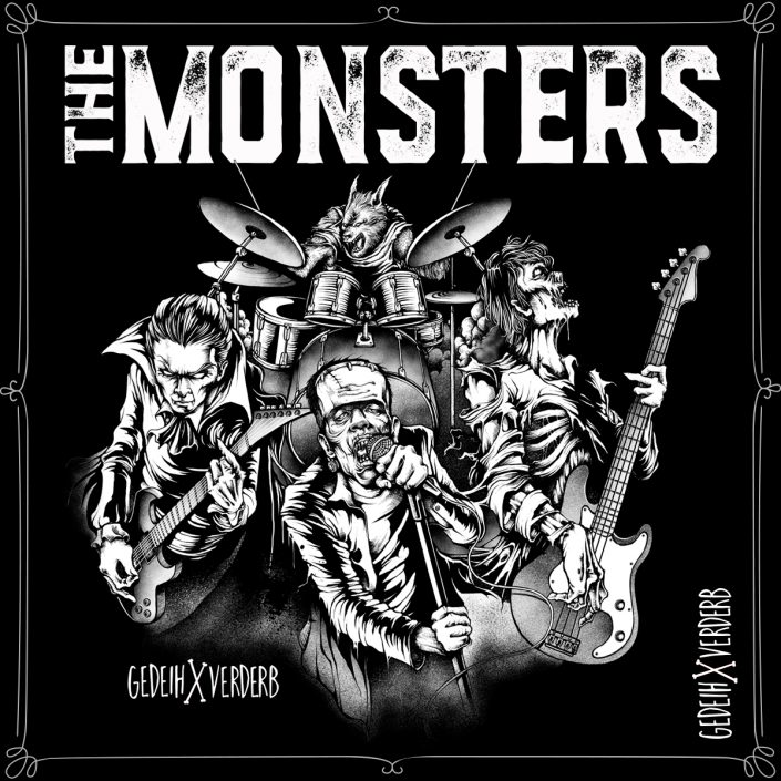 """The Monsters"" Motiv"